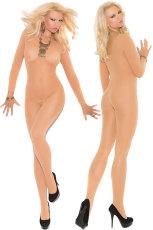 Nude Foxy Babe pitkähihainen bodystocking