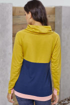 Hardal Donanma Colorblock Thumbhole Kollu Sweatshirt