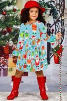 Tatil Arkadaş Noel Küçük Kız Elbise