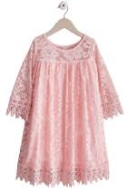 핑크 걸스 Dreamy Lace Dress