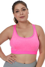 Rosy Kaksinkertaiset hihat Heathered Sports Bra