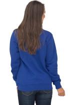 Lacivert Cep Tarzı Çeyrek Zip Sweatshirt