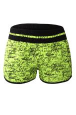 Gul Individuelt Håndskrift Udskriv Badet Shorts