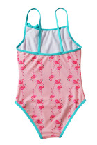 Toddler Girls Flamingo Print Bikini Swimwear