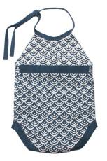 Albastru nou-născut Baby Mănuși Knit Scară Romper