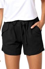 Pantaloni scurți Faylin negri