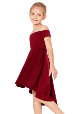 Punainen Kaikki Rage Skater Dress for Little Girls