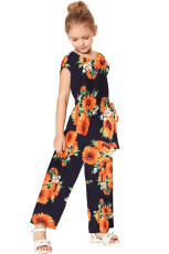 Blue Sunflower Jumpsuit