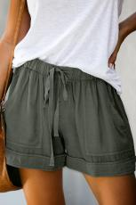 Sage Green Strive Pocketed Shorts