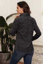 Trækul Quarter Zip Pullover Sweatshirt