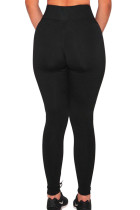 Legging Gym Black Sheer Mesh