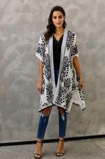 Μαύρη ανδρεία Pom Pom Kimono