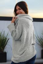 Grå Fra Skulder Comfy Sweater