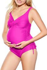 Dámské plavky Rose Ruched Maternity Tankini
