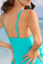 Baju Renang Bersalin Turquoise Tank Top dengan Panty