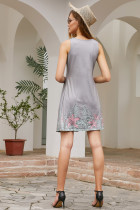 Gray Beachtime Mansless Beach Dress