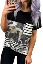 Randig Camo Pocket T-shirt