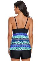 Μπλε Πράσινη Παραλία Holiday Tankini Swim Top
