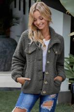 Jackp Sherpa Button Up Bişkojka Sleeve Long