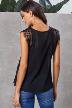 Ji Ji Dêrikê Lace Tank Top with Vest