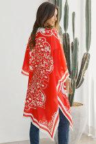 Κόκκινο Τολέγιο Medallion Kimono
