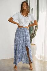 Небесно-голубая юбка путешественника