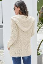 Cardigan bi Beit Knit Hooded