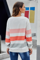 Vit Dreaming of Spring Striped Pullover Top