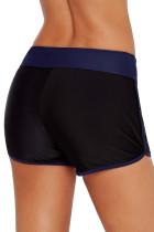کنتراست Navy Blue Trim Swim Board Shorts