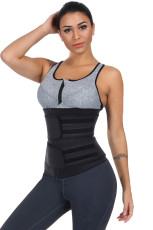 Black Sauna Sweat Sport Fajas Neopreno Body Shaper