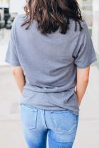 Vahşi Çocuk Gri Tişört