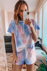 Zestaw piżam z nadrukiem w kolorze barwnika