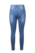 Jeans Skinny Ankle Biru