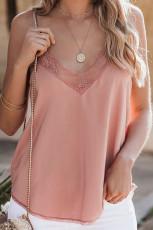 Koronkowy cami Pink Delicate Balance