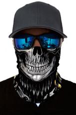 3Dスカルヘッドスカーフフェイスマスク
