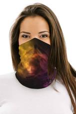 Red Nebula Multifunctionele hoofddeksels Gezichtsmasker Hoofdband Neck Gaiter
