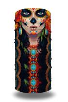 Schattige schedel print sjaal hoofdband
