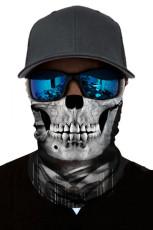 Маска для лица с черепом