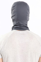 Grijs ademend stofdicht gezichtsmasker Fietshelm Bivakmuts