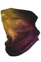Красная туманность Многофункциональный головной убор Маска для лица Оголовье с шейкой