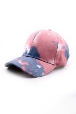 قبعة بيسبول خارجية مطبعة بصبغة حمراء