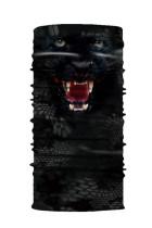 Black Animal Print Cycling Motorcycle Head Sjaal Neck Warmer Face Mask