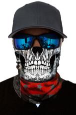 3D маска для лица с черепом