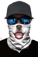 Hond print fietsen motorfiets hoofd sjaal nekwarmer gezichtsmasker