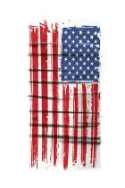 De USA Flag Print Windproof Shield Bandanas Unisex Neck Gaiter