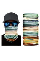 Többszínű Tie Dye Print arcmaszk és nyakmelegítő nap UV-védelemmel