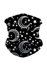 Star Moon naadloze gezicht Bandana Neck Gaiter