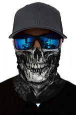 Clown Skull Head Sjaal Face Bandana Neck Gaiter
