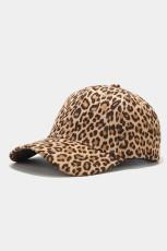 หมวกเบสบอลพิมพ์ลายเสือดาว
