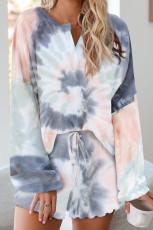 Set de pijamale Tie Dye Knit